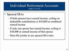 alimony earned income for ira