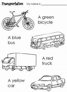 transportation coloring worksheets 15179 for children
