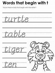 four letter words worksheets for kindergarten 23553 words that start with t letter t words letter t worksheets kindergarten phonics worksheets