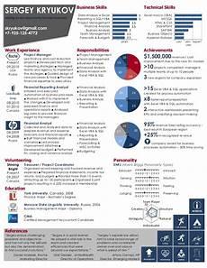 visual resume infographic