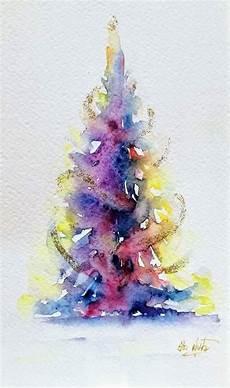 watercolor tree elsa nutz watercolor