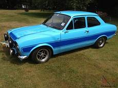 1973 Ford Mk1 Rs 2000 Olympic Blue