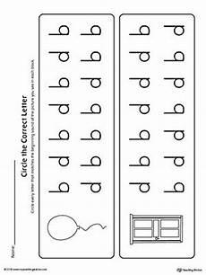 b d letter reversal match beginning sound worksheet tot school beginning sounds worksheets