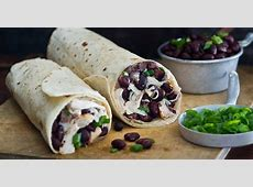 crock pot chicken   bean burritos_image