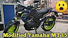 Mt 15 Modif by Exclusive Modified Yamaha Mt 15 In India 2019 Bike