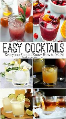 27 easy cocktail recipes we should all know how to make park ranger john