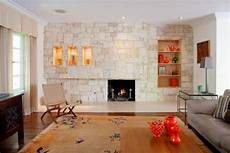 fireplace with textured stone accent wall hgtv