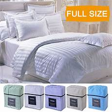 4 piece bed sheet set deep pocket 5 color available full