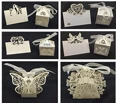 wedding luxury favours box favour boxes with ribb table decorations
