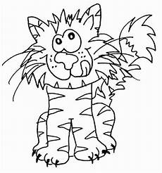 Malvorlagen Katze Quiz Katzen Wuschels Malvorlagen