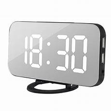 Alarm Clock Digital Snooze Touch by Led Digital Alarm Clock With Usb Port For Phone Charger