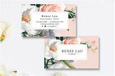 floral business card template photoshop floral business card template business card templates