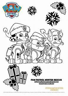 mytoys paw patrol ausmalbilder winter rescue mytoys