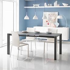 table extensible oddo en verre et m 233 tal de design moderne