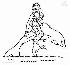 Malvorlage Meerjungfrau Mit Delfin Ausmalbilder Meerjungfrau Mit Delfin Ausmalbilder Einhorn