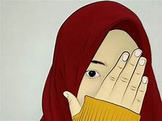 30 Gambar Kartun Muslimah Bercadar Syari Cantik Lucu