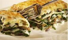 Vegetarische Lasagne Rezept - vegetarische lasagne mit austernpilzen und spinat rezept