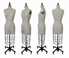 pgm industry dress form with flat hip collapsible shoulder size 4 12 model 602 ebay