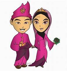 Mycartoonnizz Logo Soya Sejuk Pasangan Bahagia