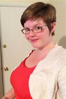 pixie haircuts for overweight women with glasses girl short hair short hairstyles and fat