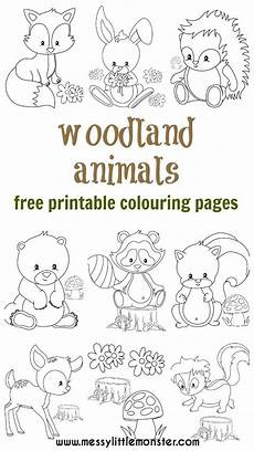 woodland animals coloring pages free 17189 woodland animal colouring pages teach me how to draw animal coloring pages woodland animals