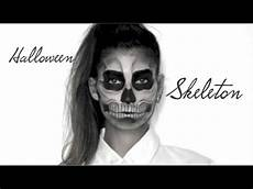 lufy squelette maquillage facile skeleton
