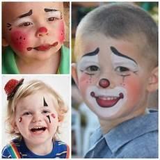 kinder clown schminken kinderschminken clown schminken kinder schminken