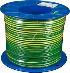 6 0mm building wire green yellow earth 100m roll mjs electrical supplies
