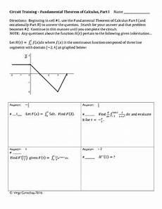 circuit training fundamental theorem of calculus tpt