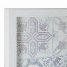 cadre en verre quot be yourself quot 30x40cm blanc