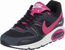 nike air max command w shoes black pink