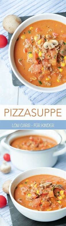 Pizzasuppe Low Carb - low carb pizzasuppe ein schnelles one pot rezept