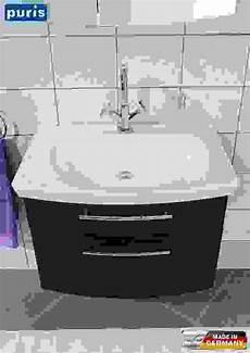 waschbeckenunterschrank weis cm breit waschbecken