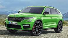 skoda kodiaq rs could debut in europe by october overdrive