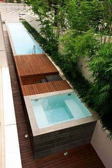mini pool für terrasse entspannende badewanne im garten genie 223 en