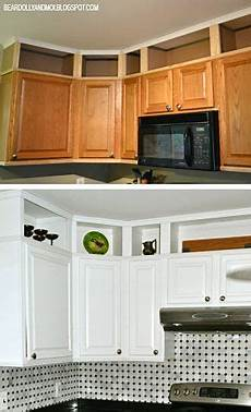 Ideas For Kitchen Above Cabinets by 42 Adding Storage Above Kitchen Cabinets Hide Soffit
