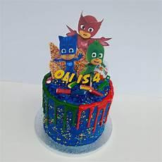 Malvorlagen Pj Masks Cake Pj Masks Birthday Drip Cake Baking