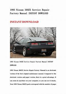 free service manuals online 1994 nissan 300zx spare parts catalogs 300zx factory service manual pdf kipbacke
