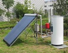 warmwasser mit solar sunflower solar solar water heater