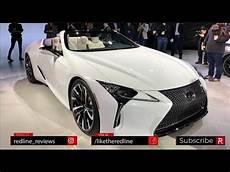 lexus lc convertible concept redline look 2019