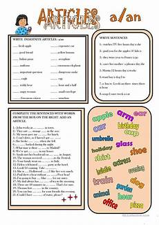 worksheets on indefinite articles 18919 63 free esl definite article worksheets