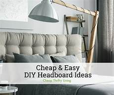 Bedroom Ideas Cheap And Easy by 12 Cheap And Easy Diy Headboard Ideas Cheapthriftyliving