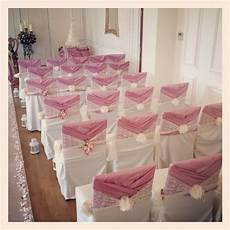 wedding chair cover designs elegantly covered chairs with expertly tied sashes enhance the