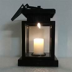 outdoor hanging candle led light solar powered garden wall carriage lantern l 664298269015 ebay