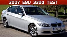 2007 bmw 320d e90 start up exhaust and in depth review