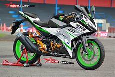 Modifikasi Striping All New Cbr150r by Modifikasi Striping New Cbr150r White Trickstar