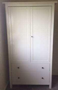 Ikea Hemnes Wardrobe With Lock White In Dunfermline