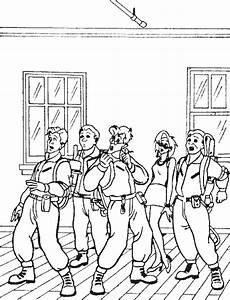 Malvorlagen Kostenlos Ghostbusters Ghostbusters