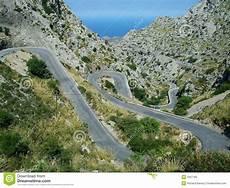 Route De Montagne Majorque Image Stock Image Du