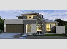 Modern house exterior grey beige double storey   House